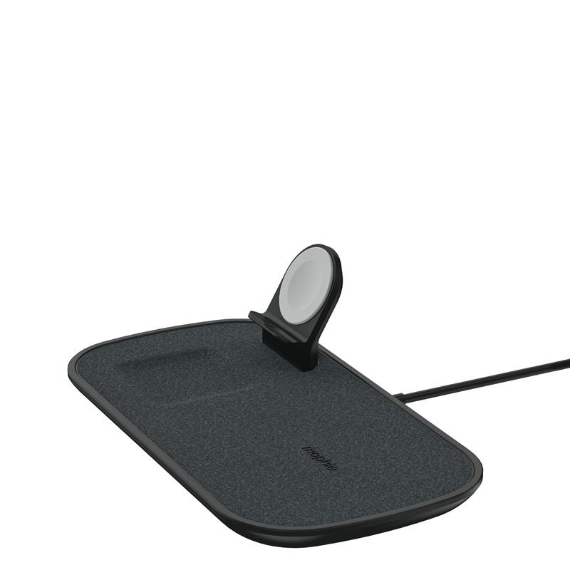 mophie 409903655 cargador de dispositivo móvil Interior Negro