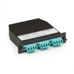 Black Box OM3 50-Micron fiber optic adapter MTP 2 pc(s)