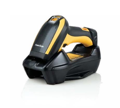 Datalogic PowerScan PBT9500 Handheld bar code reader Laser Black,Yellow