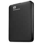 Western Digital WD Elements Portable 750GB Black external hard drive