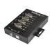 StarTech.com Adaptador Industrial USB a 4 Puertos Serie DB9 RS232 RS422 RS485 con Protección ESD de 15kV - Cable Conversor USB a Serial