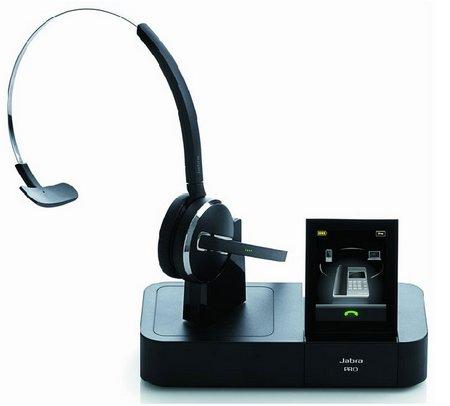 Jabra Pro 9470 Monaural Black headset