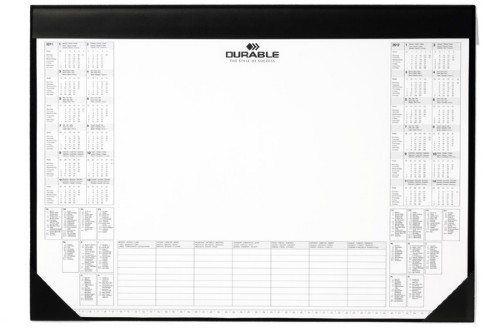 Durable Desk Mat With Paper Inlay