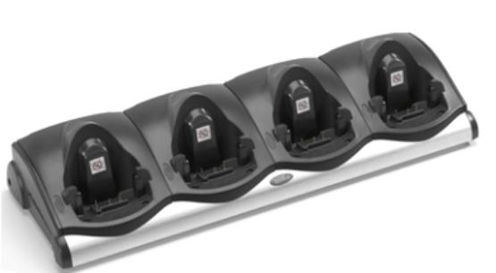 Zebra CRD9101-411EES cargador de dispositivo móvil Interior Negro, Plata