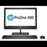 "HP ProOne 400 G5 50,8 cm (20"") 1600 x 900 Pixeles 9th gen Intel® Core™ i5 i5-9500T 8 GB DDR4-SDRAM 256 GB SSD Negro PC todo en uno"