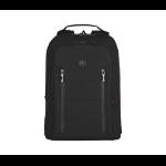 "Wenger/SwissGear City Traveler Carry-On 16"" notebook case 40.6 cm (16"") Backpack Black 606490"