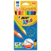 BIC Kids Evolution colour pencil Multi 12 pc(s)