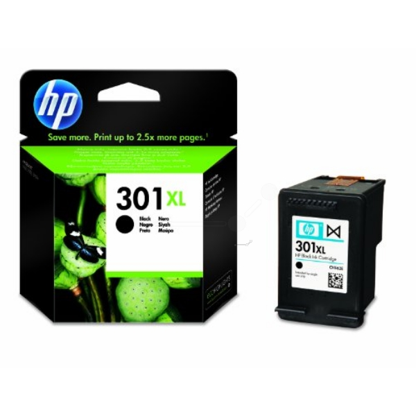 HP CH563EE#301 (301XL) Printhead black, 480 pages, 8ml