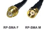 Premiertek PT-SMA-EXT-8 8m RP-SMA RP-SMA Black Coaxial Cable