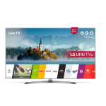 "LG 49UJ750V 49"" 4K Ultra HD Smart TV Wi-Fi Black LED TV"