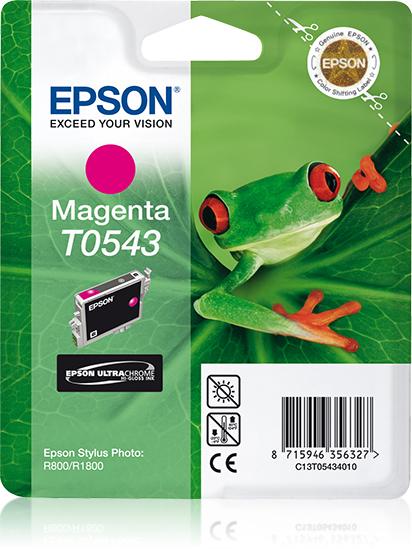 Epson inktpatroon Magenta T0543 Ultra Chrome Hi-Gloss