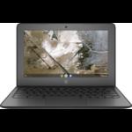 """HP Chromebook 11A G6 EE Black 29.5 cm (11.6"""") 1366 x 768 pixels 7th Generation AMD A4-Series APUs 4 GB DDR4-SDRAM 32 GB eMMC Wi-Fi 5 (802.11ac) Chrome OS"""