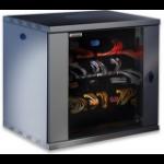 Intellinet 712088 rack Freestanding rack 12U Black