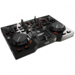 Hercules 4780833 DJ controller Black Magnetic tape scratcher 2 channels