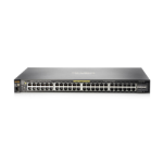 Hewlett Packard Enterprise Aruba 2530 48G PoE+ Managed L2 Gigabit Ethernet (10/100/1000) Black 1U Power over Ethernet (PoE)