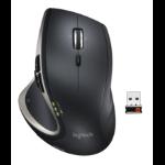 Logitech Performance MX mice RF Wireless Laser 1500 DPI Right-hand Black, Silver