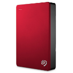 Seagate Backup Plus Portable 5000GB Red external hard drive