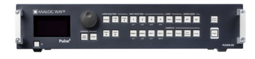 Analog Way Pulse²-3G Media presentation matrix switcher Built-in display 70 W