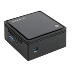 Gigabyte GB-BXBT-1900-500/4 BGA 1170 2GHz J1900 UCFF Black PC/workstation barebone