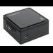 Gigabyte GB-BXBT-1900-500/4 BGA 1170 2GHz J1900 UCFF Black PC/workstation barebone