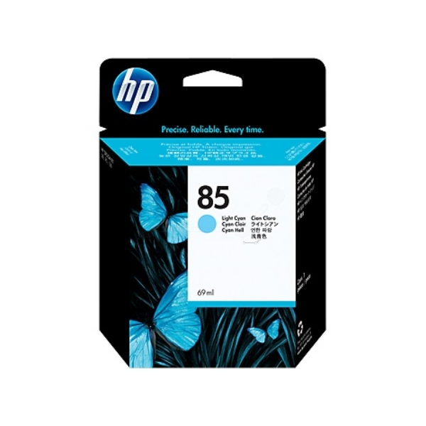 HP C9428A (85) Ink cartridge bright cyan, 69ml