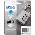 Epson C13T35824010 (35) Ink cartridge cyan, 650 pages, 9ml