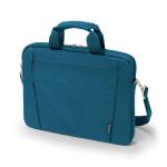 "Dicota Slim Case Base 13-14.1 notebook case 35.8 cm (14.1"") Messenger case Blue"