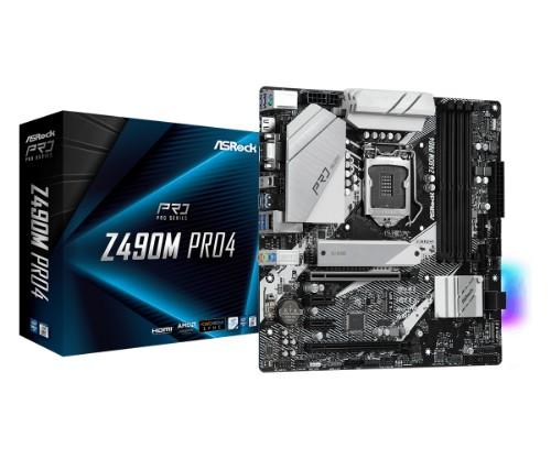 Asrock Z490M Pro4 micro ATX Intel Z490