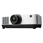 NEC PA804UL data projector Ceiling / Floor mounted projector 8200 ANSI lumens 3LCD WUXGA (1920x1200) 3D White