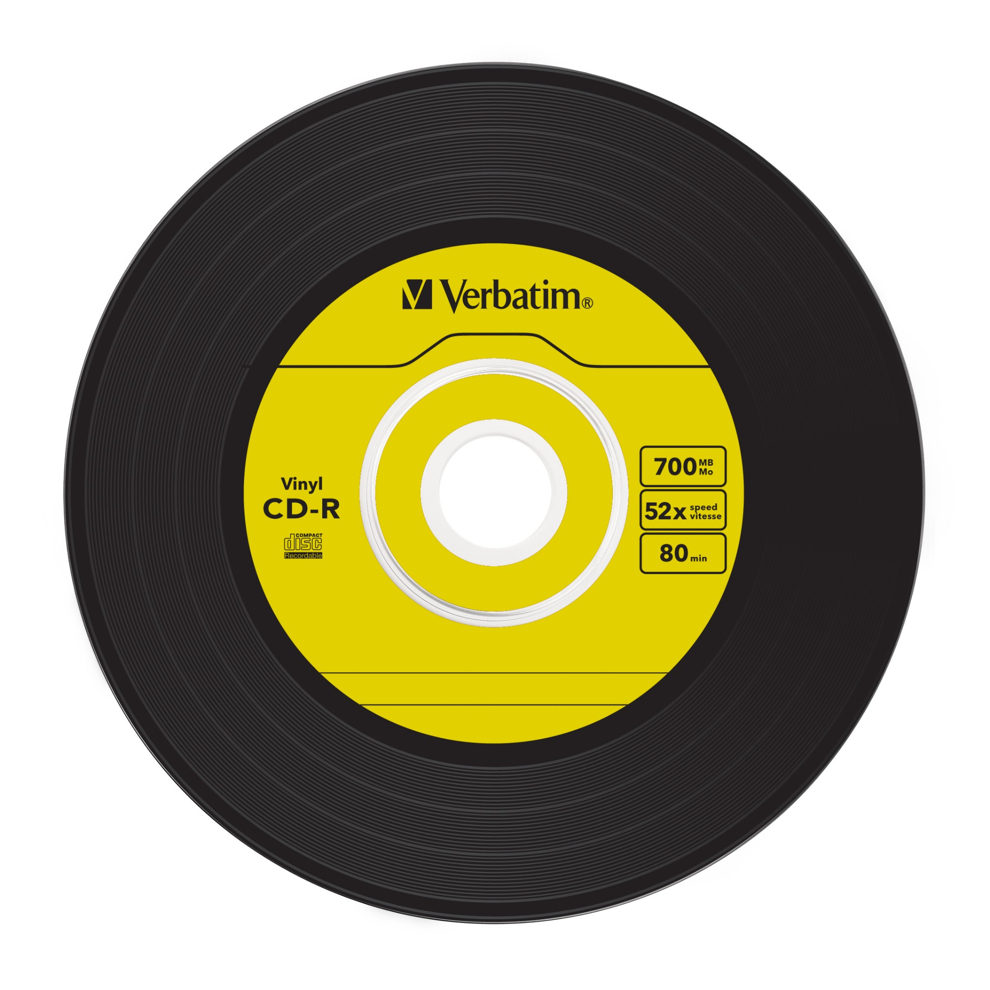 Verbatim CD-R AZO Data Vinyl 700 MB 10 pc(s)