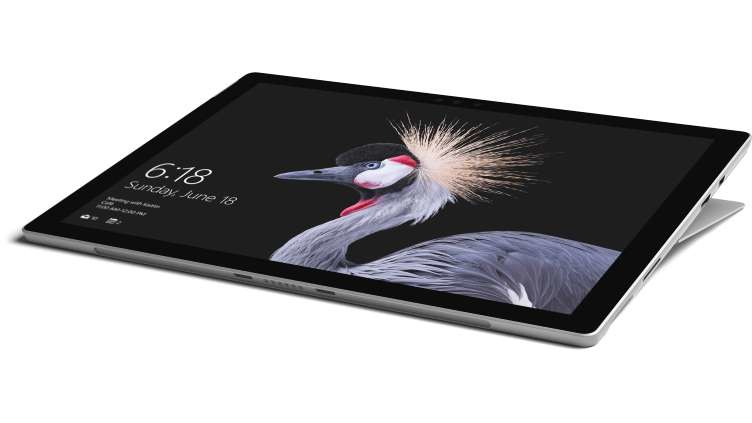 Microsoft Surface Pro tablet 7th gen Intel® Core™ i5 i5-7300U 256 GB Black,Silver