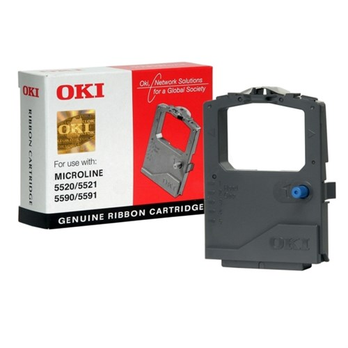 OKI 01126301 Genuine Printer Ribbon Cartridge Network Solution for Global Society