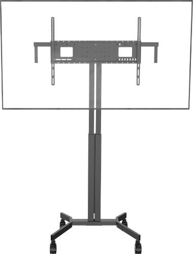 "Vision VFM-F30/WXL flat panel floorstand 2.29 m (90"") Portable flat panel floor stand Black"