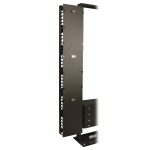 Tripp Lite SmartRack 12 in. Width High Capacity Vertical Cable Manager - Double finger duct with cover