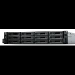 Synology RackStation RS3621RPXS NAS/storage server Rack (2U) Ethernet LAN Black D-1531