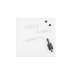 Bi-Office GL150101 Glass White magnetic board