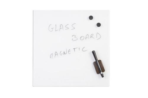 Bi-Office GL150101 magnetic board Glass White