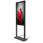 "DynaScan DS551DR4 Digital signage flat panel 55"" LED Full HD Black signage display"