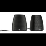 HP S3100 loudspeaker 2.4 W Black