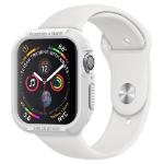 Spigen 062CS24471 smartwatch-accessoire Opbergtas Wit Thermoplastic polyurethaan (TPU)