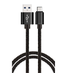 BOOC USB 3.0 USB-A (Male) to USB Micro-USB (Male) Cable - 2m, Black