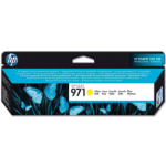 HP 971 Origineel Geel 1 stuk(s)