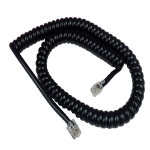 Yealink replacement curly cord RJ9 connectors