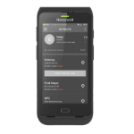 "Honeywell CT40 handheld mobile computer 12.7 cm (5"") 1280 x 720 pixels Touchscreen 278 g Black"