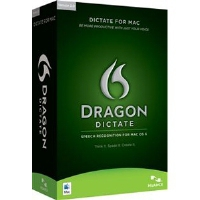 Nuance Dragon Dictate 2.5, Mac, CD, ENG