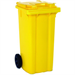 VFM REFUSE CONTAINER 360L 2 WHLD YLW 33 33