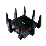 ASUS RT-AC5300 wireless router Tri-band (2.4 GHz / 5 GHz / 5 GHz) Gigabit Ethernet Black