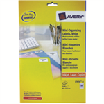 Avery L7656-25 White printer label