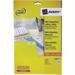 Avery L7656-25 printer label White