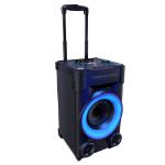 Energy Sistem Party 3 Go 40 W Sistema de megafonía con ruedas Negro